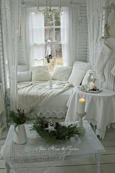 Prodigious Cool Tips: Shabby Chic Interior Shutters shabby chic table colour schemes.Shabby Chic Home Decorating shabby chic pink bedroom. Casas Shabby Chic, Shabby Chic Mode, Shabby Chic Living Room, Shabby Chic Interiors, Shabby Chic Bedrooms, Shabby Chic Kitchen, Shabby Chic Cottage, Shabby Chic Style, Shabby Chic Furniture