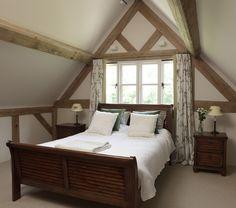 Bedroom in a Border Oak Farmhouse