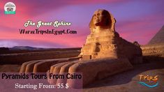 """In the shadow of the Pyramids, on the edge of the Giza plateau, sits one of Egypt's most extraordinary monuments """"the Great Sphinx"""". Reservation@tripsinegypt.com Whatsapp:+201069408877 #TripsInEgypt #EgyptDayTours #CairoDayTours #PyramidsToursFromCairo #CairoToPyramids #EgyptTours #CairoTours #PyramidsTours #CairoExcursions #Travels #Vacations #Holidays #thisisegypt #AncientEgypt #Summer2018 #CairoTouristAttractions #TheGreatSphinx"""