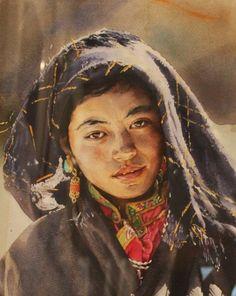 Lou Yun Sheng WATERCOLOR