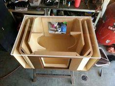 icu ~ Sub box Car Speaker Box, Speaker Box Design, Diy Subwoofer, Subwoofer Box Design, Sub Box Design, Custom Car Audio, Custom Cars, Car Audio Installation, Jl Audio