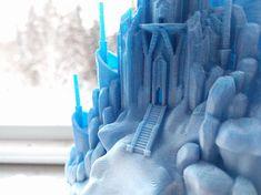 Frozen Castle, 3D printed