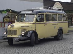 STEYR Steyr, Vintage Trucks, Old Trucks, 10 4 Good Buddy, Tramway, Old Commercials, Bus Coach, Bus Ride, Commercial Vehicle