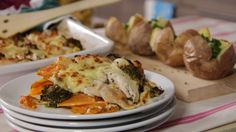 chicken and brocilli Squash Bake, Baked Squash, Chicken Broccoli, Butternut Squash, Great Recipes, Food Ideas, Meat, Dinner, Baking