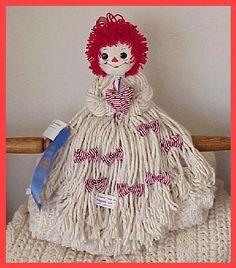 """Raggedy Ann """"Mop"""" Doll"""