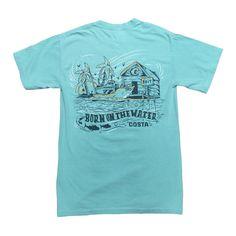 Costa Del Mar Locals T-Shirt CHALKYMINT