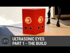 UltrasonicEyes is a fun and quirky project you can place somewhere and watch as it looks at things moving around in front of it. Freaky!. Find this and other hardware projects on Hackster.io.