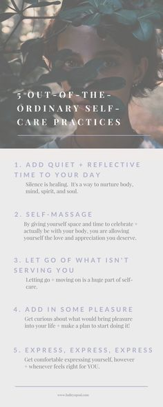 If you were to take care of yourself the way you deserved, what would that look like? There are so many ways to take care of yourself and here are 5 out of the ordinary self-care practices you can start today. #selfcare #selfcaretips #selfcareideas #morningroutine #selfdevelopment #personalgrowth #iamenough #youareenough #selflove #loveyourself