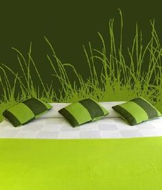 Long Grasses Wall Stickers