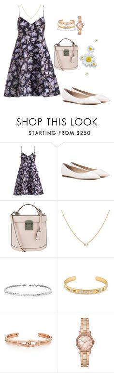 """heart"" by amber-xx12 ❤ liked on Polyvore featuring Zimmermann, Jimmy Choo, Mark Cross, Suzanne Kalan, Gucci and Michael Kors"