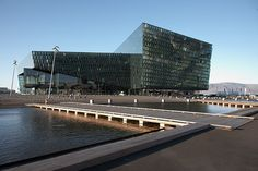 Harpa Reykjavik Concert Hall and Conference Centre. Concert Hall, Modern Buildings, Marina Bay Sands, Conference, Skyscraper, Centre, In This Moment, Amazing, Photography