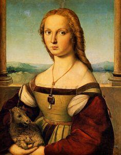 Raphael.Lady with a Unicorn