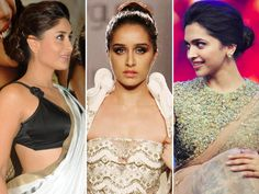 The current hairstyle trend doing the rounds in B-town is the pretty bun. Several Bollywood actresses were seen sporting elegant updos at their recent public appearances. Be it on a traditional dress or red carpet gown, tied up hair seems to be the way to go. Check out the Bollywood beauties who are rocking the newest B-town trend. Image courtesy: BCCL Don't Miss: Bollywood Celebrities Who Look Beautiful in Curls!