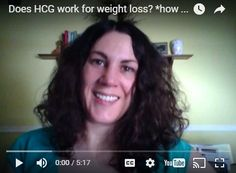 VIDEO: Does HCG work for weight loss?