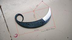 FORGED KARAMBIT    Karambit blade in Bladesmithing/Knifemaking Forum