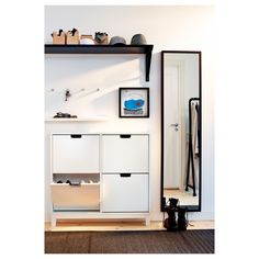 IKEA hallway storage solution