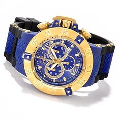 606-131 - Invicta Men's Subaqua Noma III Anatomic Quartz Chronograph Strap Watch