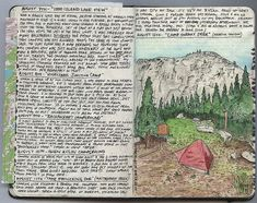 Kolby's hiking journals are amazing. Check out his other journal entry pages.