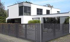 moderner Gartenzaun aus Metall   Garten   Pinterest   Garten and ...