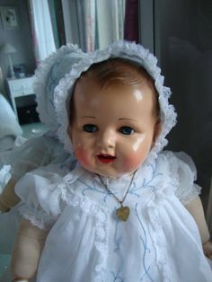 Old Dolls, Antique Dolls, Creepy Kids, Creepy Children, Big Baby Dolls, Realistic Baby Dolls, Vintage Teddy Bears, Reborn Dolls, Reborn Babies