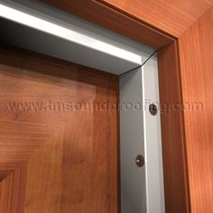 Heavy Duty Adjustable Door Soundproofing Gasket With Neoprene Seal DSZ770A,  Trademark Soundproofing Garage Door Security