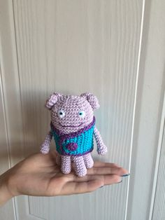 Crocheted Oh from the movie 'Home'