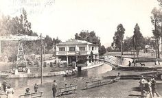 Bogota Antigua _Lago Gaitan 1930, Hoy Unilado
