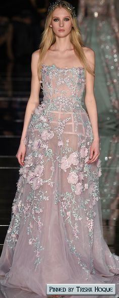 Zuhair Murad Spring 2016 Couture  Fashion Trends 2016/2017  https://www.pinterest.com/trishahoque/fashion-trends-20162017/