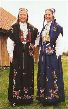 Bunader of Jelsa, a former municipality in Rogaland county, Norway. æ har blå ull med rød. nydelig :-)