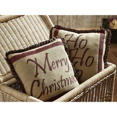 artan Holiday Pillow Set of 2 12x12 - Christmas Holiday Decorations