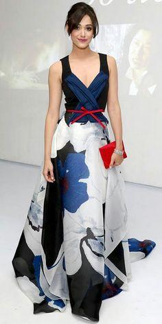 Carolina Herrera gown More