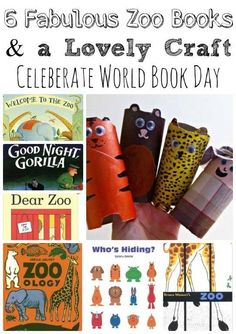 World Book Day: 6 Zoo Books, One craft to go with all of them!
