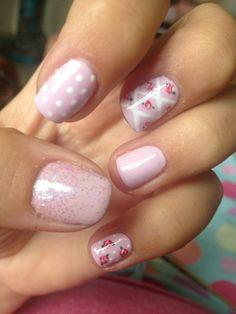 The Basics of Shabby Chic Style – Shabby Chic News Shabby Chic Nails, Shabby Chic Style, Mani Pedi, Nail Manicure, Manicures, Love Nails, Fun Nails, Nail Polish Designs, Nail Designs