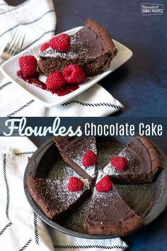 Thanksgiving Desserts Easy, Easy Desserts, Delicious Desserts, Dessert Recipes, Cake Recipes, Chocolate Bundt Cake, Flourless Chocolate Cakes, Gluten Free Cakes, Gluten Free Desserts