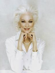 Carmen Dell'Orefice, 81 years young, born June 3, 1931. She is the oldest working model in the world, modeling for the last 66 years.