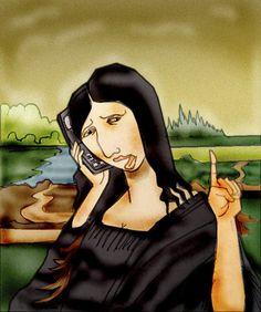 Mona Lisa 2011 [berk-olgun] (Gioconda / Mona Lisa)