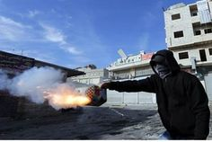 Soldier Attacked with Fireworks by Palestinians, May Open Fire - Defense/Security - News - Arutz Sheva
