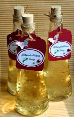 Holunderblütensirup Rezept und Etiketten-Freebie