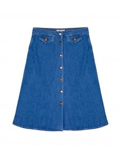 MiH 70's Denim Skirt
