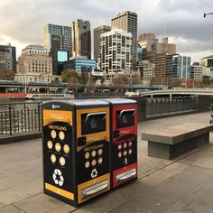 Helping to keep Australia clean and connected the state-of-the-art BigBelly Solar Compacting Station compacts up to 5 times the equivalent waste of a 120L bin and provides up-to-the-minute status on which locations need to be collected.The Bigbelly system is proven to reduce collection frequency by up to 80% allowing you to free up resources and increase recycling opportunities - how's that for intelligent waste?! #solarbinsaustralia #changeyourspace #wastemanagement #smartcities #innovation…