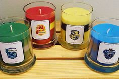 Harry Potter House Pride candle collection by MelissasCandleBakery