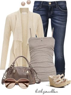 """Earthy Tones"" by bitbyacullen ❤ liked on Polyvore"