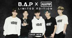 B.A.P x AKP Limited Edition 'NOIR' Collab Merch!   allkpop Always Remember Me, Himchan, Bap, Boy Groups, Shop Now, Graphic Sweatshirt, Shopping, Cheesecake, Rice