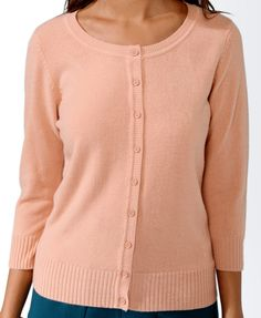 Fitted 3/4 Sleeve Cardigan | FOREVER21 - 2025101463
