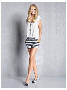 #Spitzenbluse #Shorts