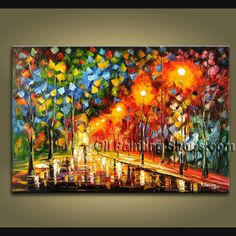 Decorate your home or office with our hand-painted art paintings of Landscape in Palette Knife style. Why settle for a print, poster, giclee or canvas transfer when you can grace your walls with a genuine oil painting on canvas at up to below gal Modern Canvas Art, Modern Art Paintings, Contemporary Wall Art, Abstract Paintings, Panel Wall Art, Hanging Wall Art, Canvas Wall Art, Landscape Painting Artists, Artist Painting