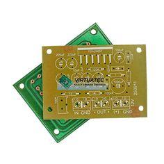 Placa p/ montar amplificador com TDA2005