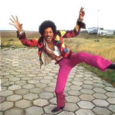 Jimi Hendrix in living color.