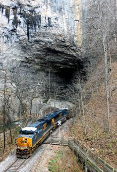 Railway in the far southwest Virginia, in the state park of the same name. About 20 miles from Kingsport, Tennessee.