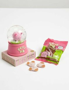 Buy the Percy Pig Snow Globe from Marks and Spencer's range. Cute Piggies, This Little Piggy, Animals Of The World, Snow Globes, Christmas Gifts, Pig Pig, Cutest Animals
